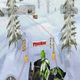 Dwonload Snow Moto Racing Cell Phone Game